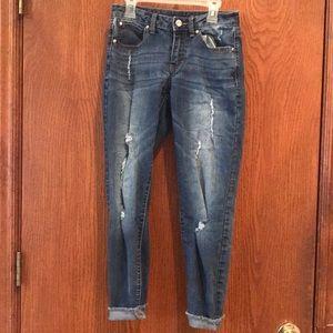 Jennifer Lopez skinny jeans